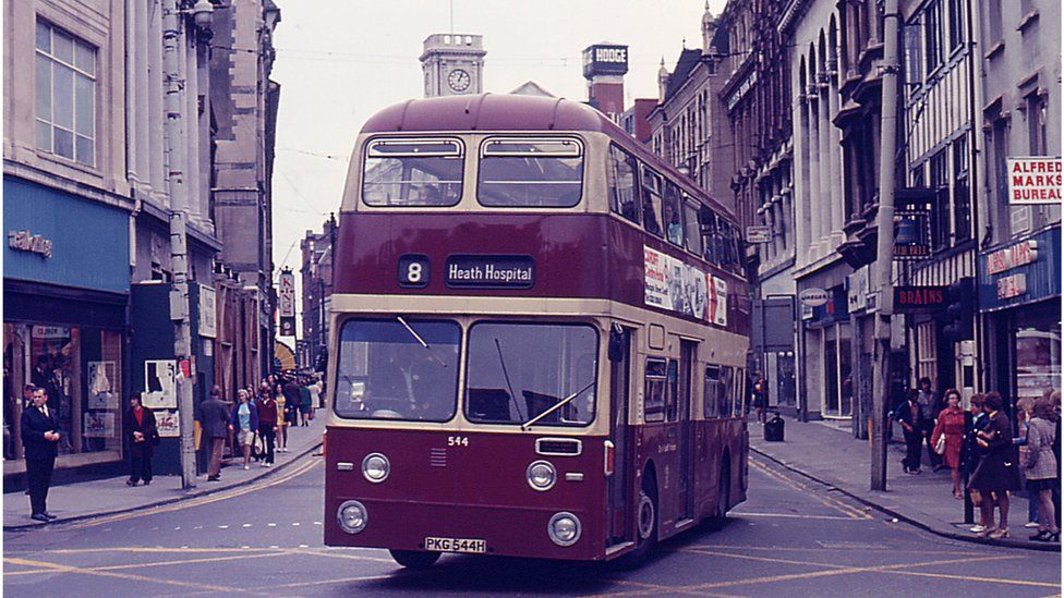 Bus in Cardiff