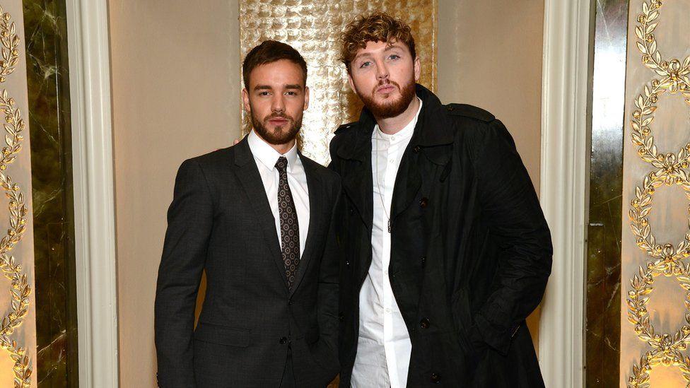 Liam Payne and James Arthur