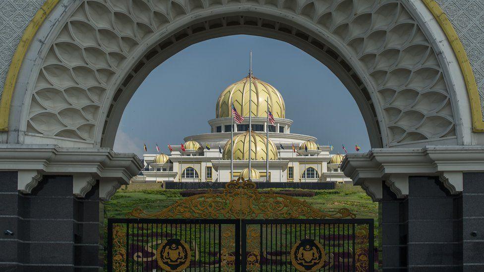 Malaysia's National Palace building