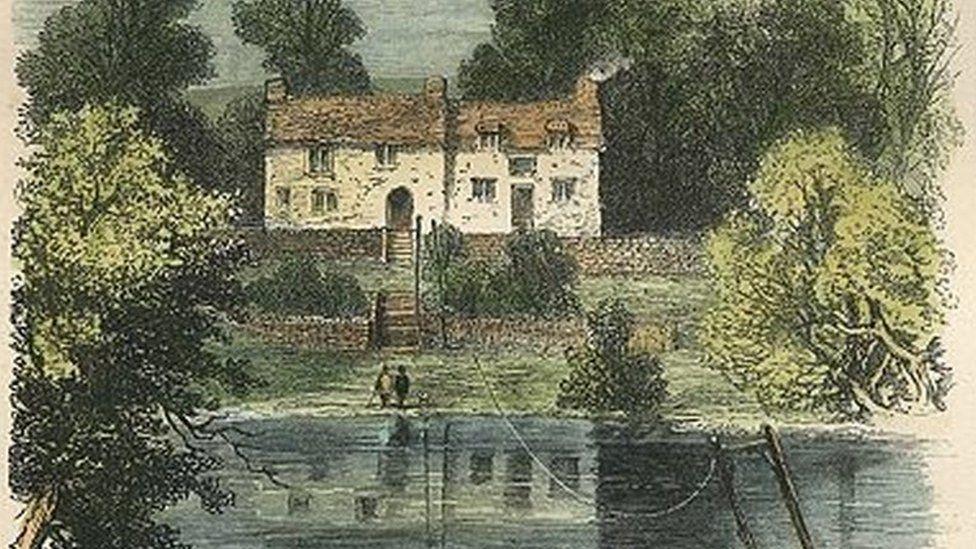 Postcard of The Boat Inn, Erbistock