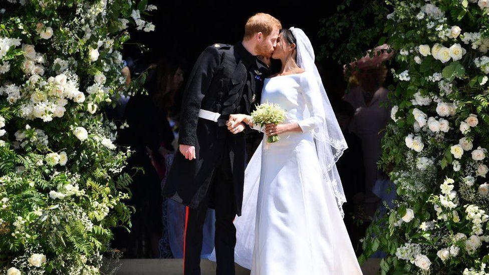 Matrimonio Meghan E Harry : David bechkam bellissimo al matrimonio di harry e meghan