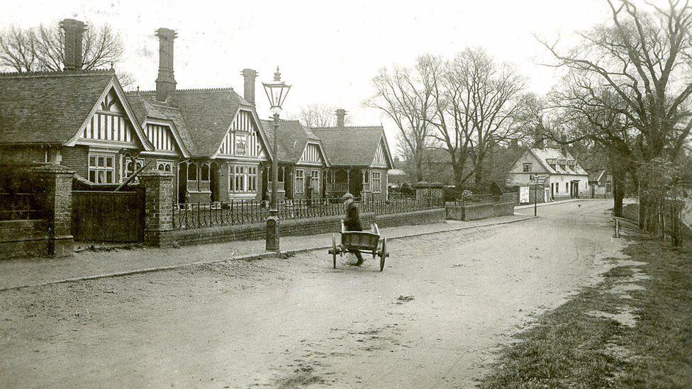 St Edmund's Almshouse circa 1900-1910