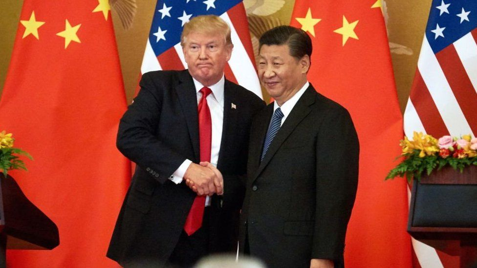 The US is locked in a trade war with China