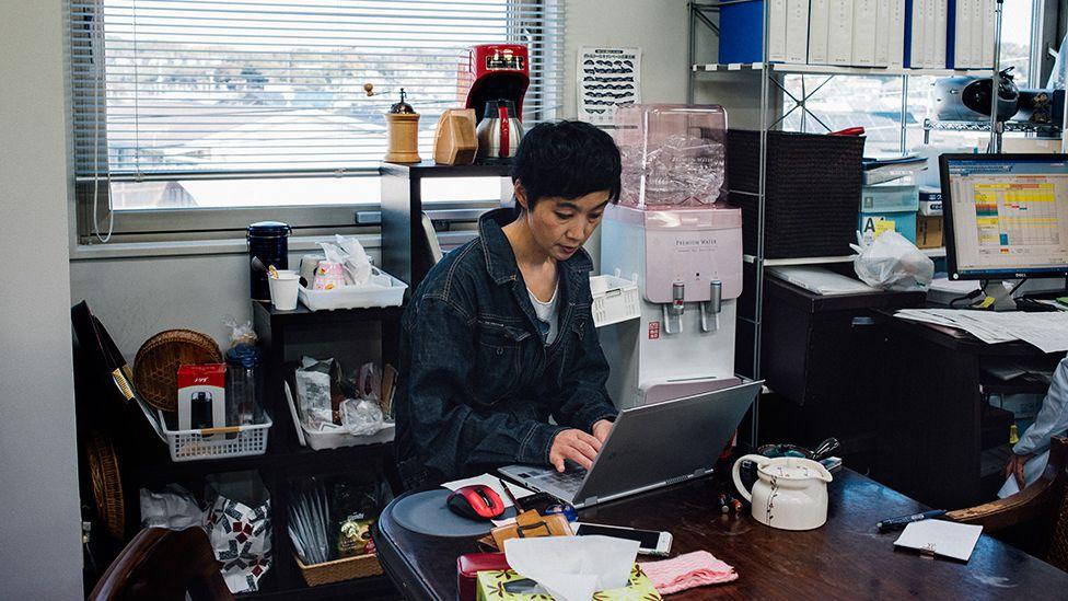 Kaori Suzuki now spends day and night at the laboratory