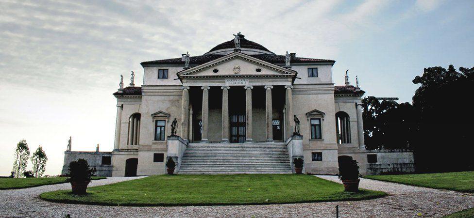 Palladio's Villa Rotonda, Vicenza, Italy