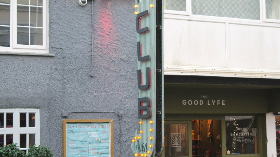 Newquay's bars and clubs now sit side-by-side with restaurants and ethical food shops