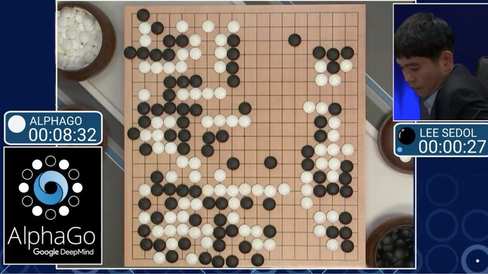 AlphaGo beats a human Go master