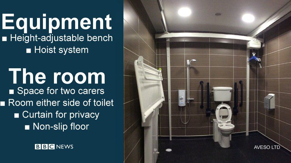 Things that make a changing place different to a standard accessible toilet