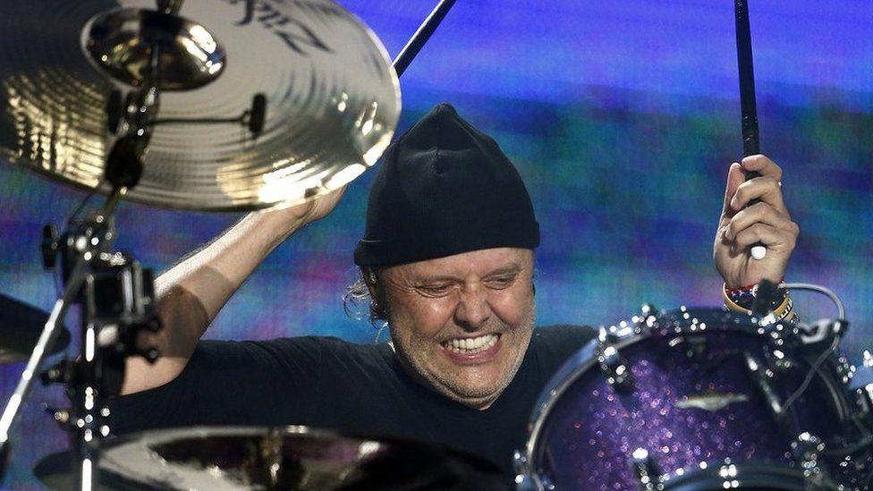 Lars Ulrich from Metallica