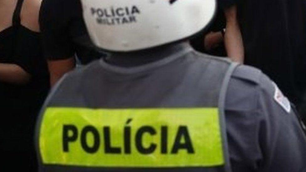 A military police officer in São Paulo, Brazil. File photo