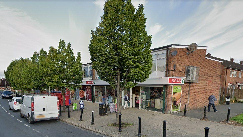 Spar on North Park Road, Bramhall