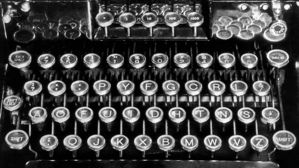 August Dvorak's alternative keyboard