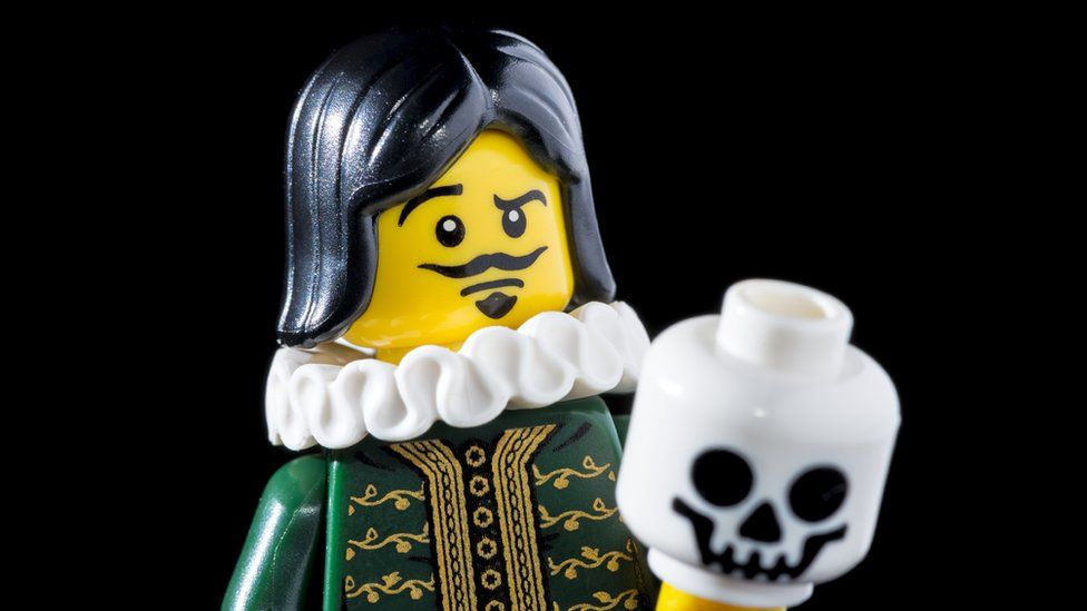 Shakespearean Lego figure