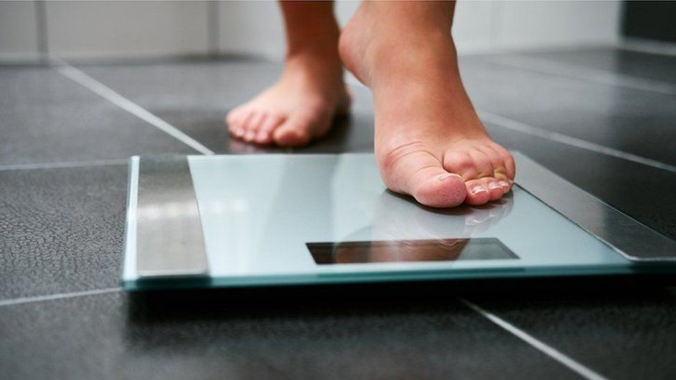 Stock image of scales