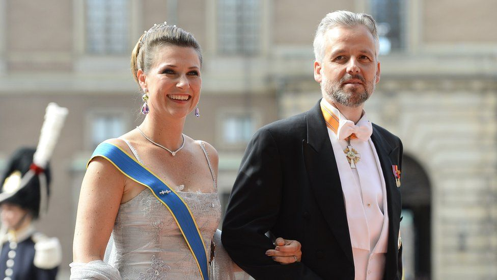 Princess Martha Louise and Ari Behn on June 13, 2015