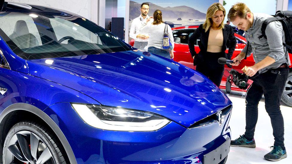 Tesla overtakes Volkswagen as value hits $100bn