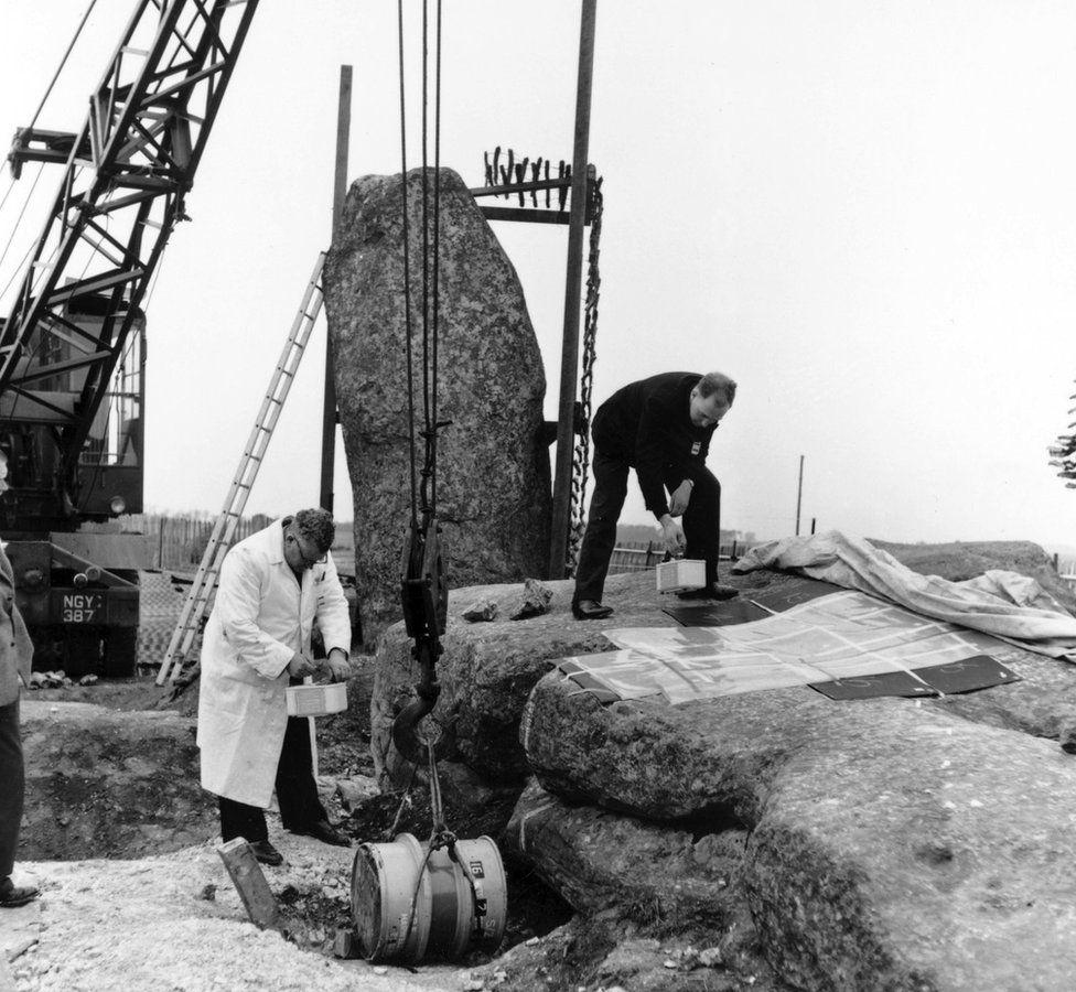 Stonehenge in 1958
