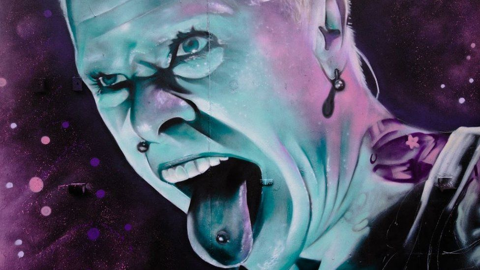 Keith Flint Braintree FC mural gets Prodigy 'respect'