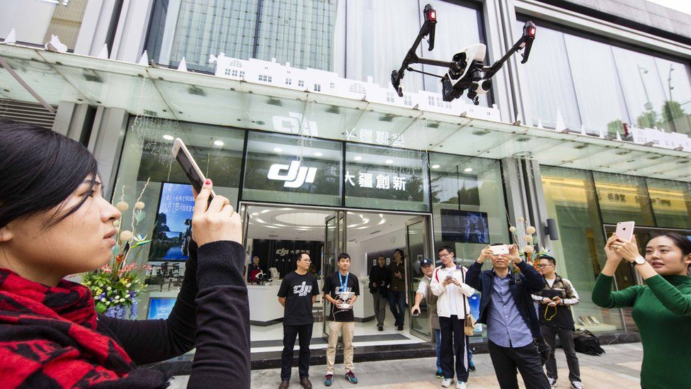 US officials ground drones over espionage fears
