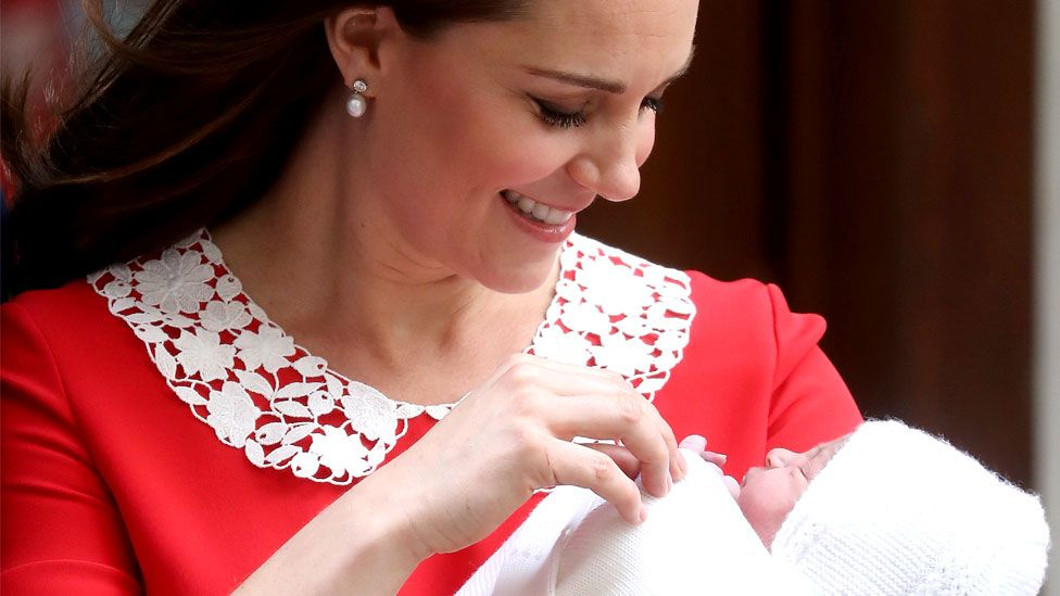 Catherine and Prince Louis