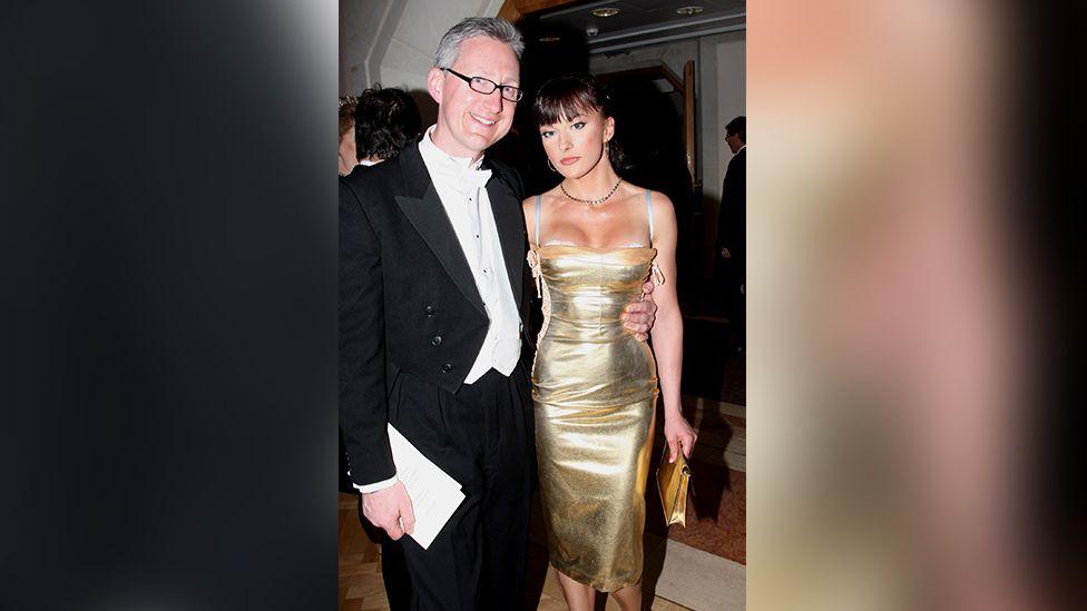 People were surprised when he began dating Cheeky Girl Gabriela Irimia