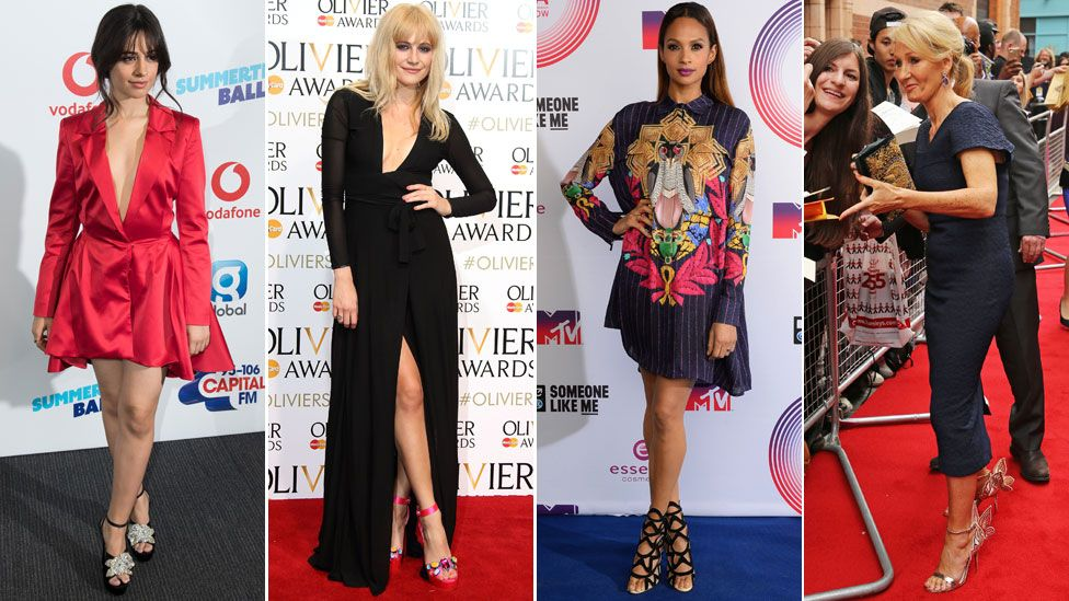 Celebs wearing Webster: Camila Cabello, Pixie Lott, Alesha Dixon and JK Rowling