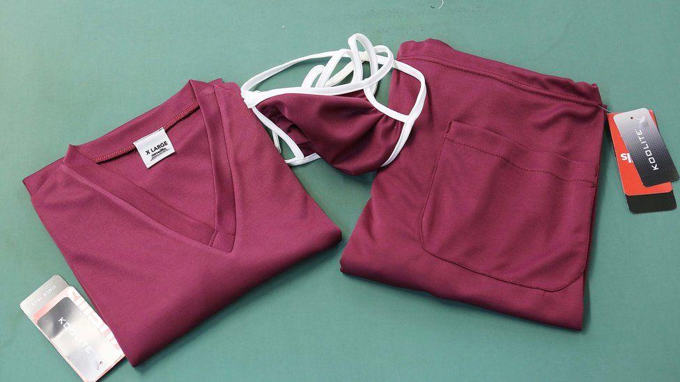 Scrubs for healthcare workers