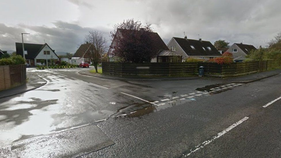 Station Road and Douglas Crescent in Kinross