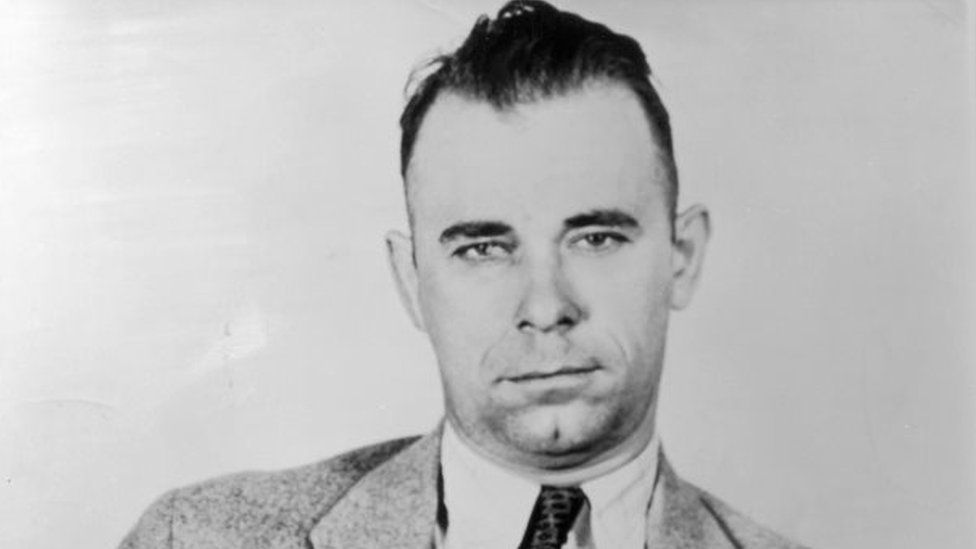 John Dillinger. Photo: 1934