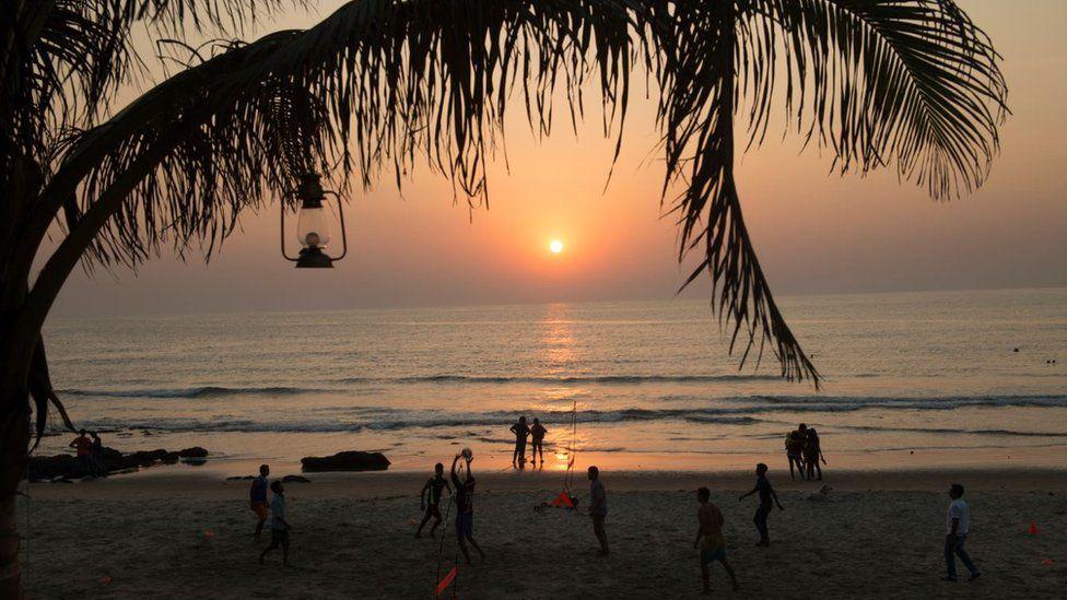 Beach in Goa