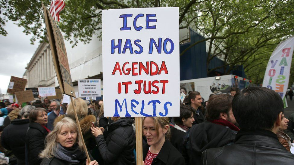 Science protesters in London