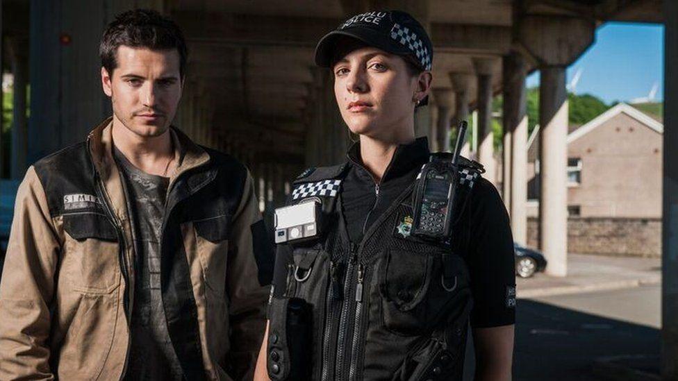 The recent S4C drama series Bang, set in Port Talbot