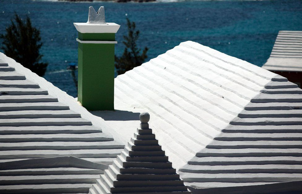 Roofs in Bermuda