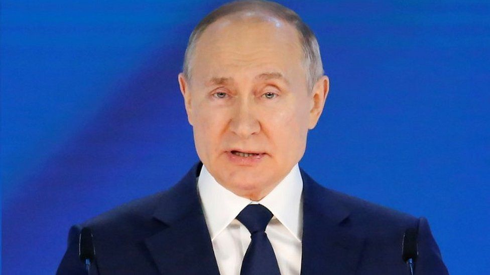 Russia's Putin gives key speech amid tensions with West thumbnail