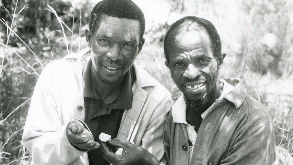 Stephen Motsumi and Nkwane Molefe