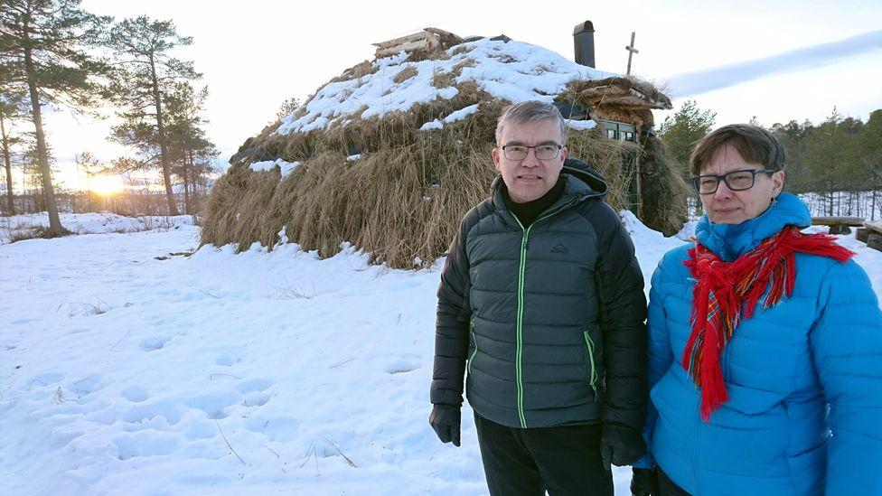 Anna and Ingar Kuoljok