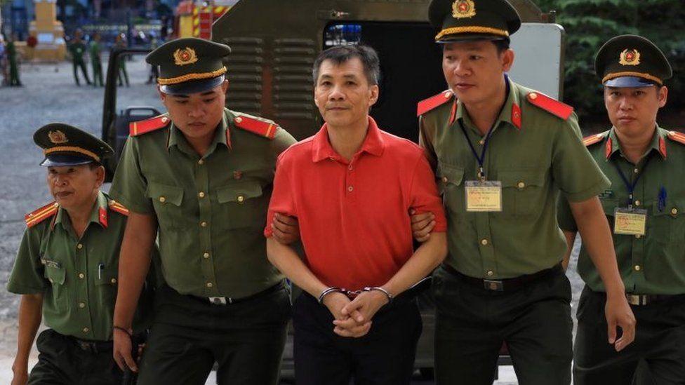 Vietnam jails US national for 'state overthrow plot'