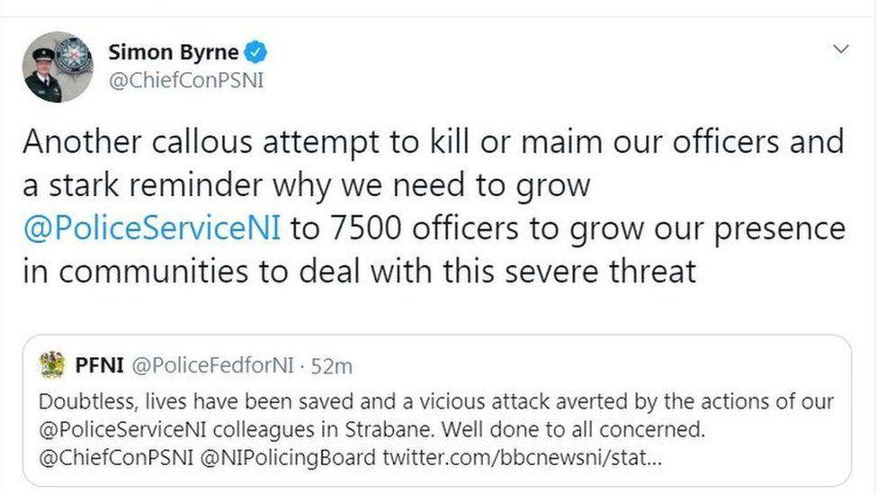 Simon Byrne tweet