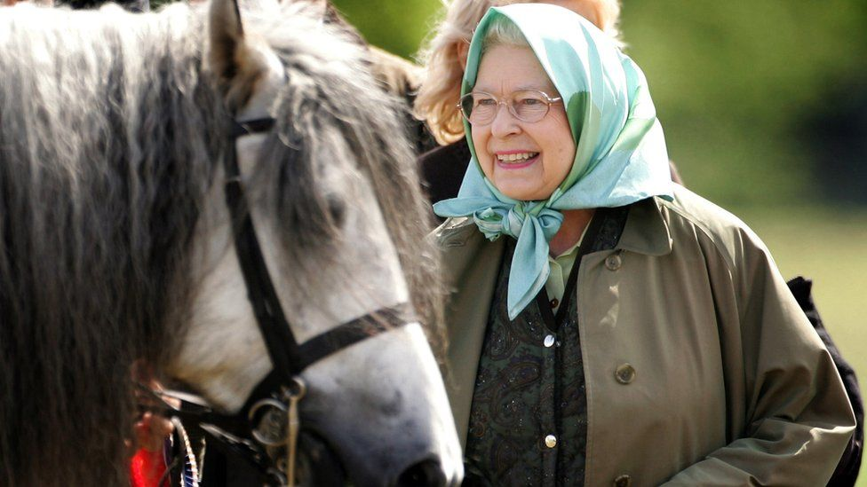 The Queen at Windsor