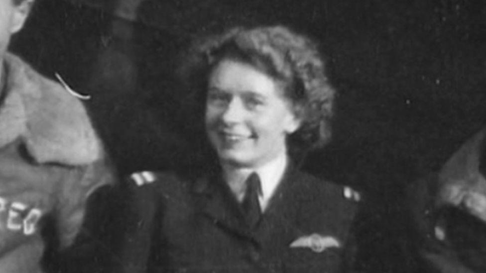 Mary Ellis - still from Spitfire Women BBC2
