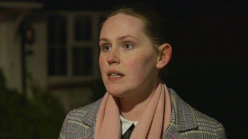 Hannah, one of Fergus Wilson's tenants
