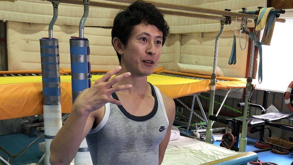 Former trampoline gymnast Tetsuya Sotomura