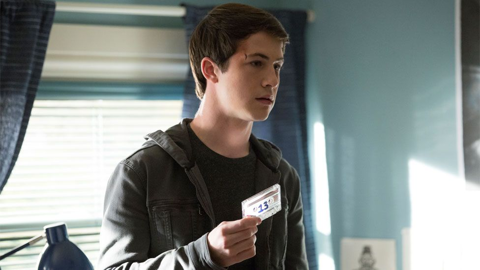 Dylan Minnette in 13 Reasons Why