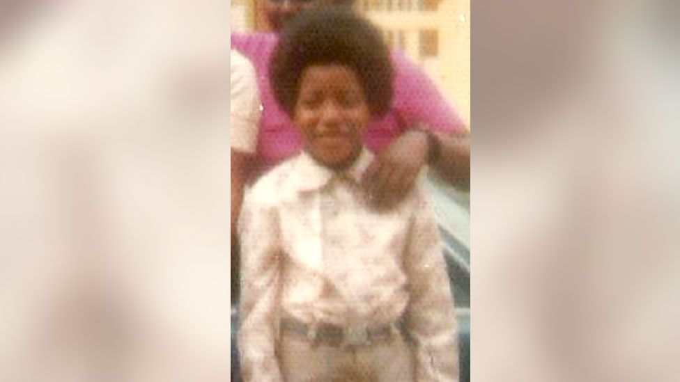 Noel as a young boy
