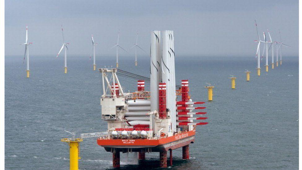 Riffgat wind farm