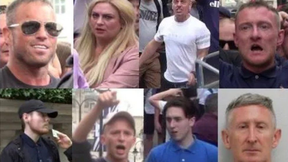 Seven jailed over London 'free Tommy Robinson' protest