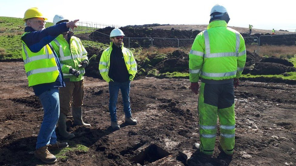Bronze age burial uncovered at Orkney sub station site
