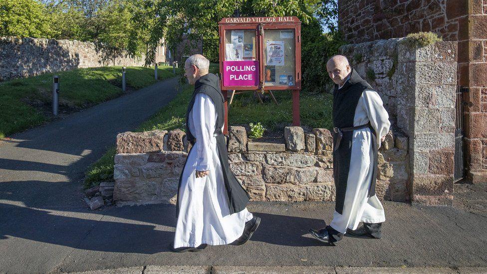 Monks in East Lothian