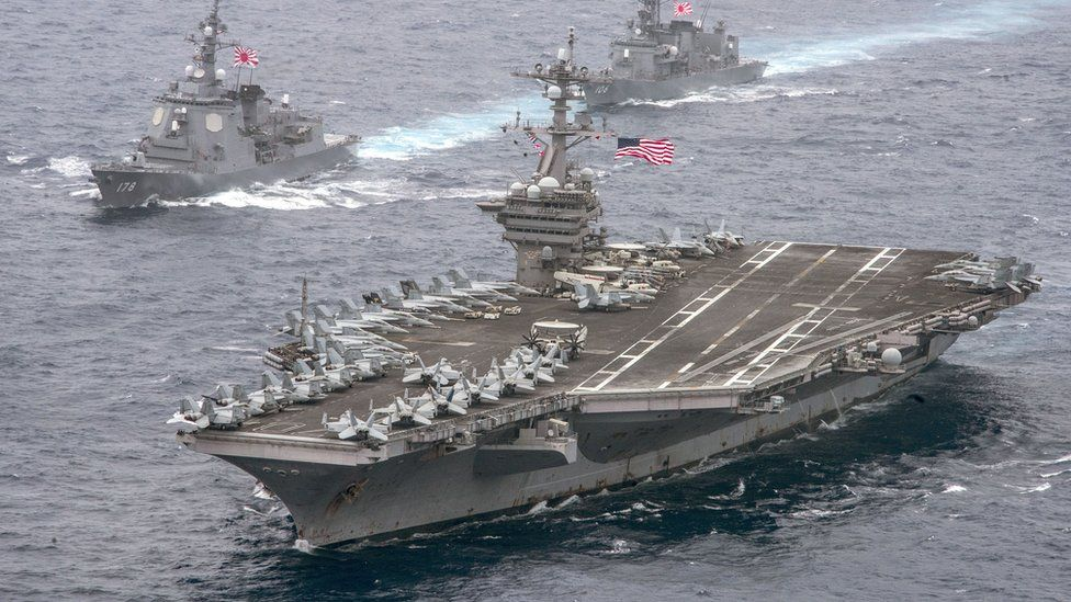 USS Carl Vinson (file image)