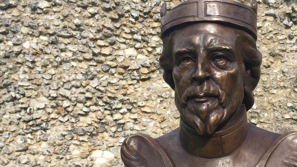 Bronze bust of William the Conqueror